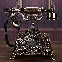European Antique Metal Fixed Telephone Landline American Retro Fashionable Landline Telephone