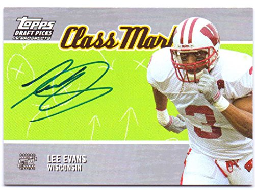 Lee Evans 2004 Topps Draft Picks & Prospects Class Marks Rookie Autograph #CM-LE - Buffalo Bills, On Card ()