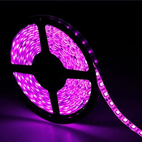 Amazon 164ft 5m pink waterproof flexible led strip lights 164ft 5m pink waterproof flexible led strip lights 5050 smd 300leds aloadofball Choice Image