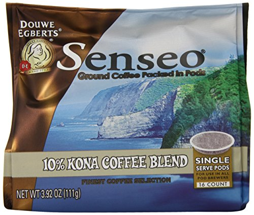 Senseo Coffee Pods, Kona Blend, 16 Count (Pack of 4)