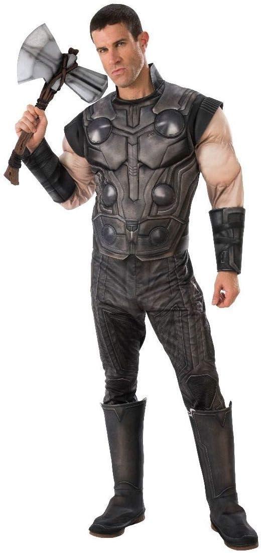 Marvel - Disfraz de Thor para hombre (Infinity Wars), Talla M ...