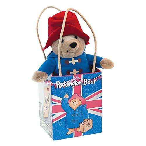 Paddington Bear Paddington Bear In Union Jack Gift Bag,by Rainbow Designs ()