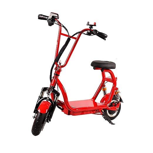 H&BB Inteligente Bicicleta Eléctricas,Plegable Patinete ...