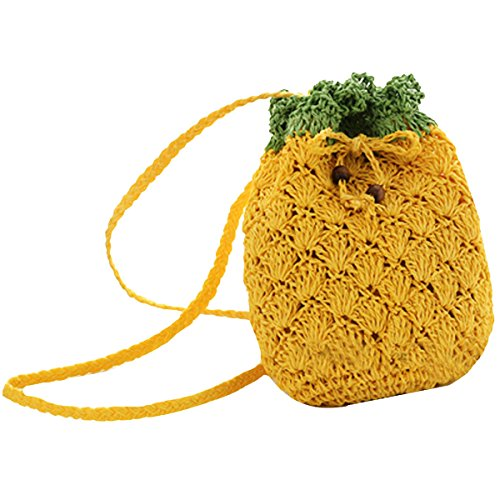 Crochet Drawstring Purse - 7