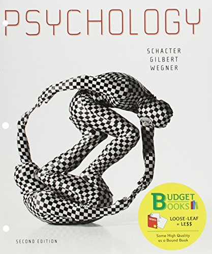 Psychology (Loose Leaf), Study Guide & PsychPortal Access Card (Budget Books)
