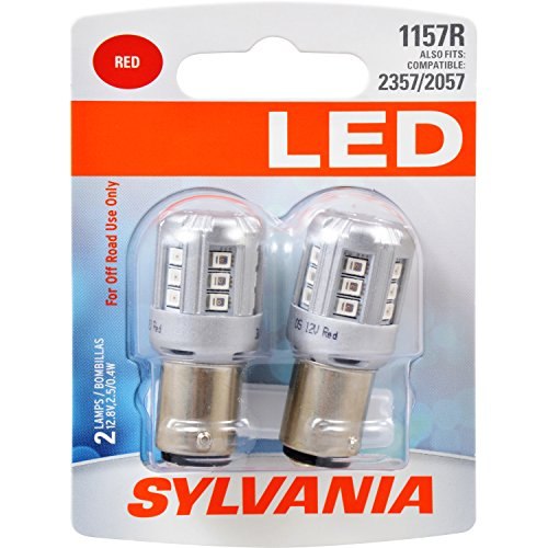 SYLVANIA 1157 Red LED Bulb, (Contains 2 Bulbs) for sale  Delivered anywhere in Canada