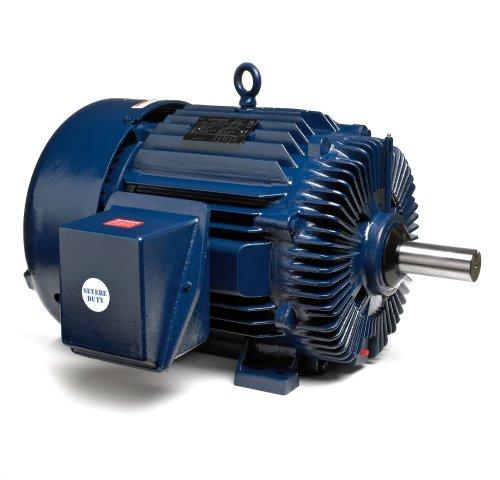 Marathon 326TTFS9210 Cooling Tower Motor, 3 Phase, TEFC, Rigid Base, Ball Bearing, 40 hp, 1800 rpm, 2 Speeds, 460 VAC, 326T Frame
