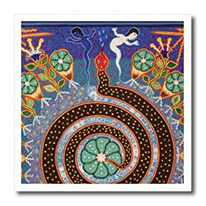 ht_92754_3 Danita Delimont - Folk Art - Folk Art, Huichol art, Santa Fe, New Mexico - US32 JMR1118 - Julien McRoberts - Iron on Heat Transfers - 10x10 Iron on Heat Transfer for White Material