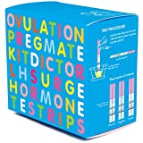 PREGMATE 50 Ovulation Test Strips LH Surge Predictor OPK Kit (50 LH)