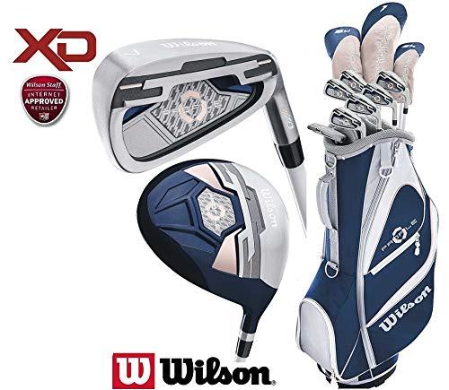 Wilson Profile XD: paquete juego de Golf para mujeres ...