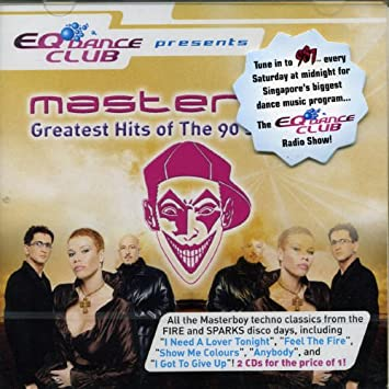 Greatest Hits Of The 90s And Beyond By Masterboy Amazoncouk Music