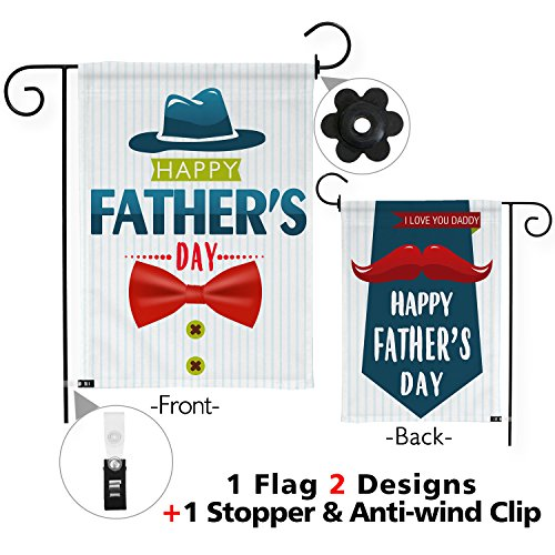 Snapmade Premium Happy Father's Day Yard Flag Double Sided w