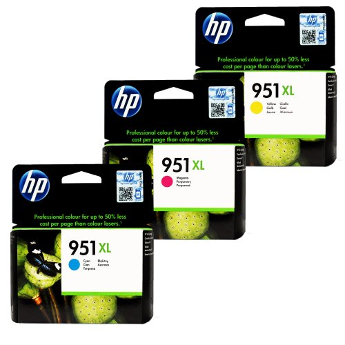 Genuine HP CR318BN 951XL 3 Color product image