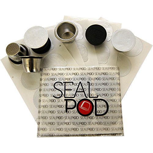 Reusable Nespresso Capsules - Sealpod Stainless Steel Refillable Pods for Nespresso Machines (5 Pods, 100 Lids) by Sealpod (Image #6)