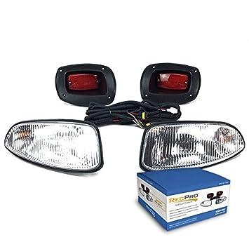 Amazon recpro ezgo rxv golf cart halogen light kit wled recpro ezgo rxv golf cart halogen light kit wled tail light 2008 2015 sciox Gallery