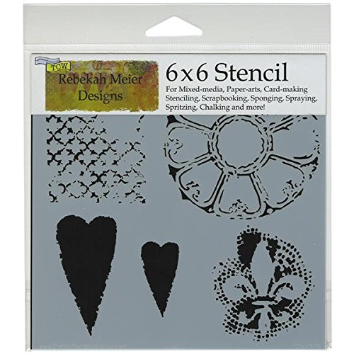 Crafters Workshop Template, 6 by 6-Inch, Gothic Romance