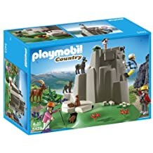 Playmobil Rock Climbers with Mountain Animals