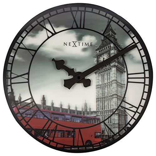 Unek Goods NeXtime Big Ben Decorative, Round Wall Clock, ...