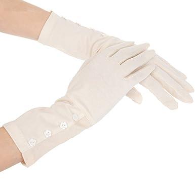 e68e8f1683147 kenmont Gants femmes d'été de protection solaire UV extérieur en coton  longue conduite (
