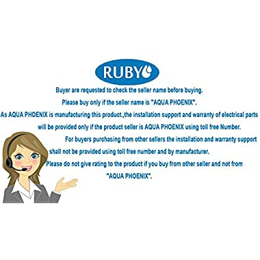Ruby Economical Ro+ Uv+Tds Controller Multi Stage Water Purifier 11