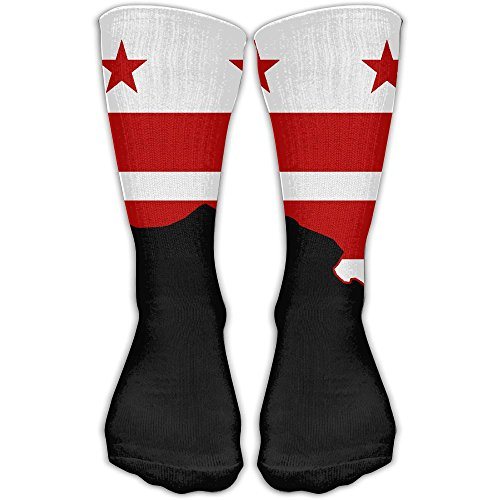 Washington DC Flag Fancy Design Socks Over Knee High Socks (Halloween Washington Dc 2017)