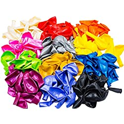 woodi 12 Color Balloons, 140 Piece