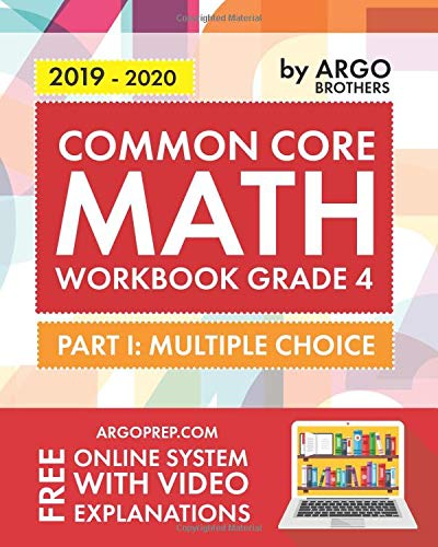 Common Core Math Workbook, Grade 4: Multiple Choice, Daily Math Practice Grade 4