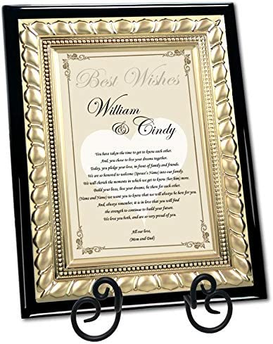 on OUR DAUGHTERS WEDDING DAY Picture Photo Frame Personalised Parents Gift