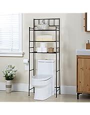 Finnhomy 3 Shelf Bathroom Space Saver Over The Toilet Rack