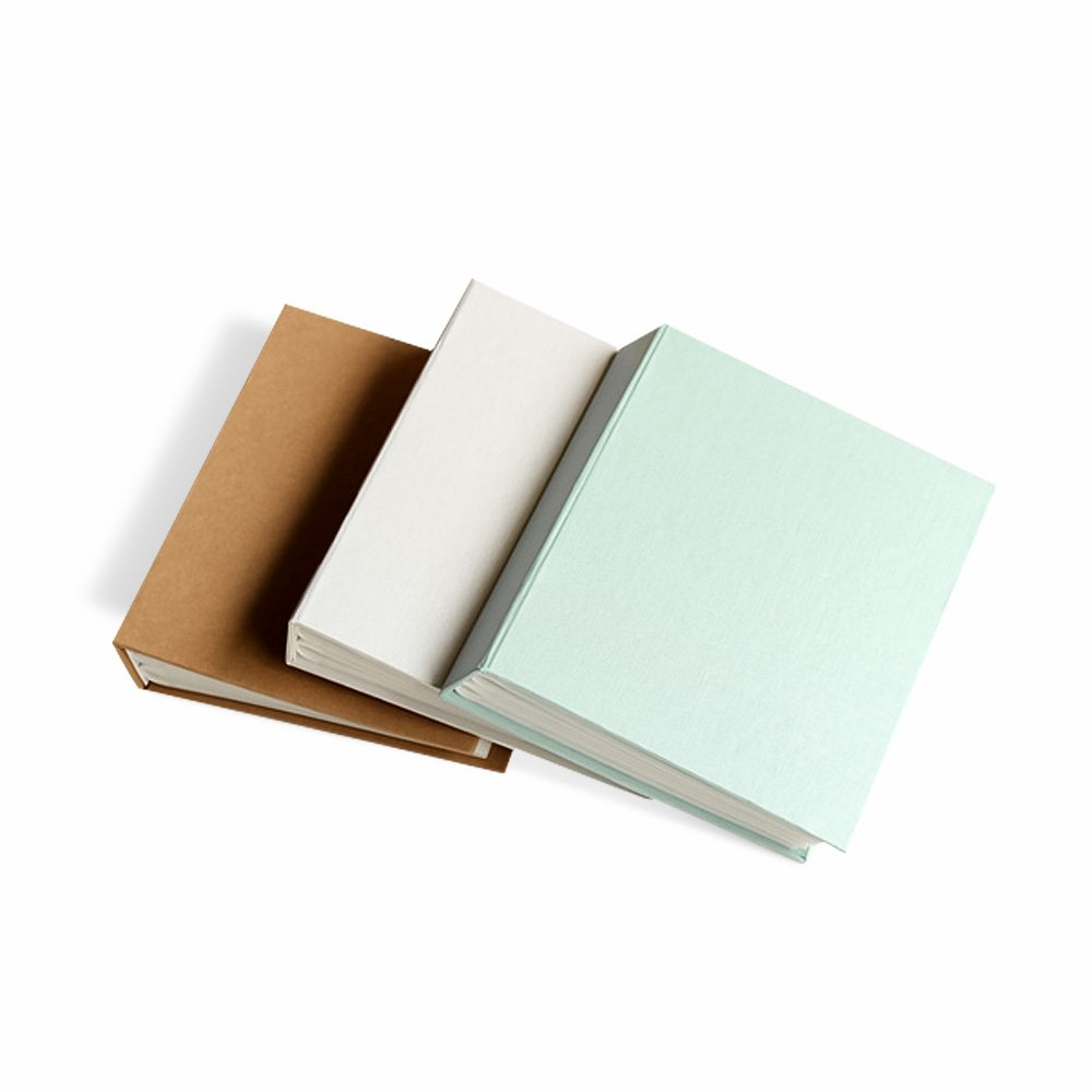 Zhi Jin Classic Paper Photo Album Slip In Hold 112 Pockets 6x4 Inch Picture Birthday Anniversary Albums Memory Book Gift, Kraft Paper