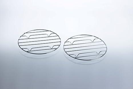 2 x para parrilla de camping de hornillo de gas con parrilla: Accesorios para Mini de gas barbacoa/Cartuchos – Barbacoa