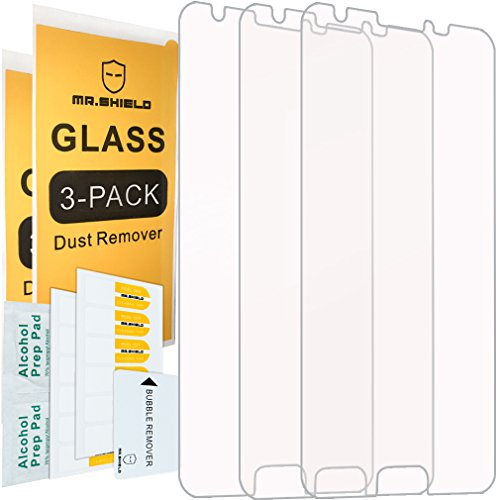 [3-Pack]-Mr.Shield for Samsung Galaxy J3 Eclipse [Tempered Glass] Screen Protector with Lifetime Replacement