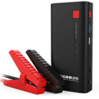 GOOLOO SuperSafe Car Jump Starter - 1200A Peak 18000mAh (Up to 7.0L Gas or 5.5L Diesel Engine) with USB Quick Charge…