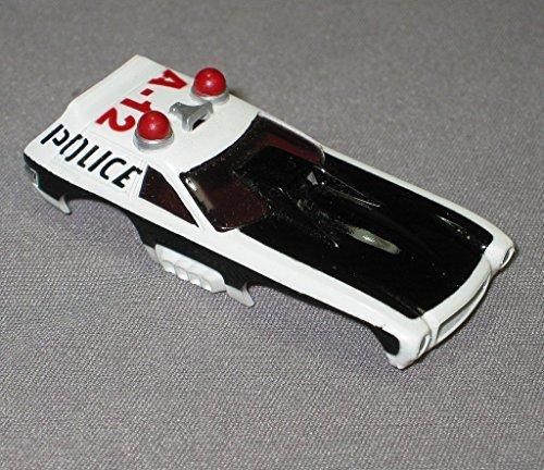 AURORA HO SMOKIE MAGNUM POLICE SLOT CAR BODY -  Aurora Slot Cars, AURB5781