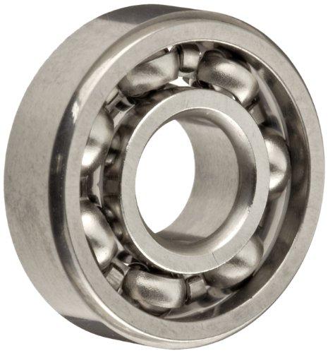 - Dynaroll Precision Miniature Ball Bearing, ABEC-5, Open, Stainless Steel