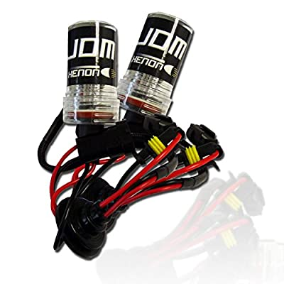 JDM HID Xenon Replacement Light Bulbs (Pack of 2)