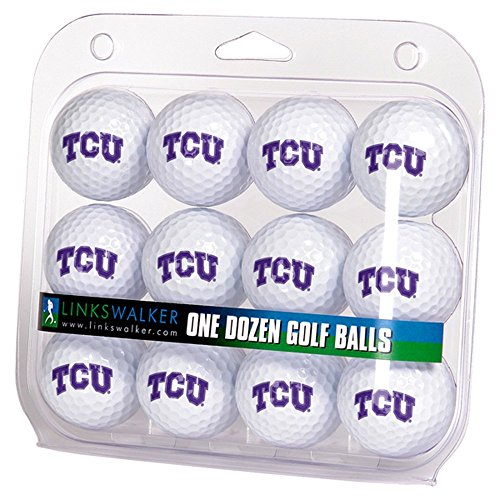 NCAA TCU Horned Frogs - Dozen Golf Balls Dozen Frog