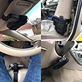 Universal Vehicle Mount Car Truck Gun Pistol Conceal Ambidextrous Holster w/mag Pouch