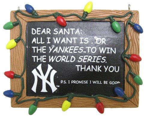 New York Yankees Christmas Ornament Christmas Yankees