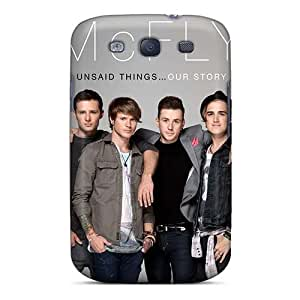 Excellent Hard Phone Covers For Samsung Galaxy S3 (niZ259toIb) Unique Design Trendy Mcfly Band Series