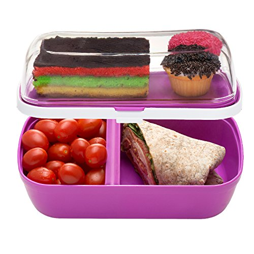bl mwares bl box 03p leakproof bento lunch box with lid personalized japanese food container. Black Bedroom Furniture Sets. Home Design Ideas