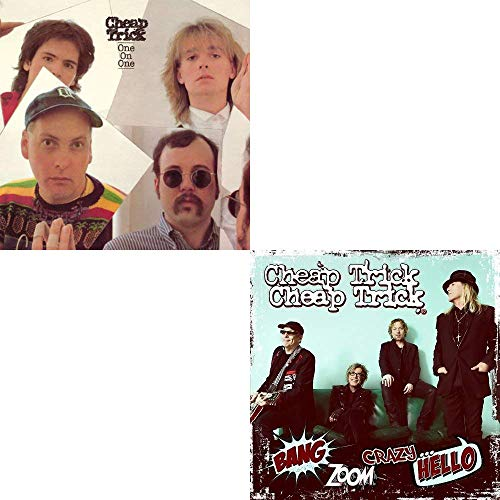 Cheap Trick: 3 Studio Album on 2 CDs Collection (One On One / Next Position Please / Bang Zoom Crazy... Hello) (Christmas Song Hangovers)