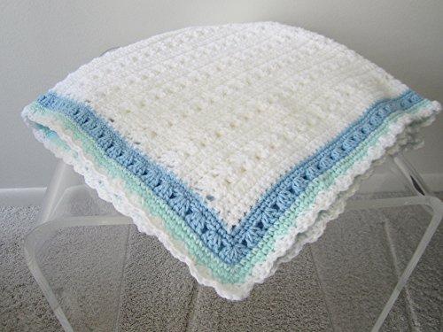 Hand crochet Baby Boy Blanket