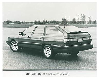 1987 Audi 5000CS Turbo Quattro Wagon Photo Poster