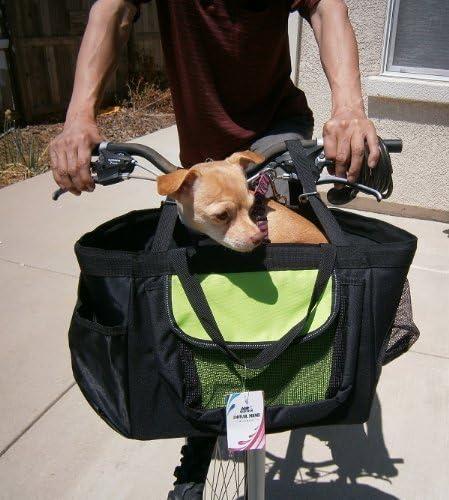 3 en 1 Pequeño Mascota Perro Cachorro Cesta de bicicleta, asiento ...