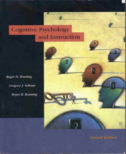 cognitive psychology and instruction 5th edition ebook