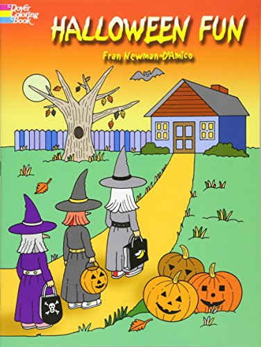 Halloween Fun Ideas - Halloween Fun (Dover Holiday Coloring Book)