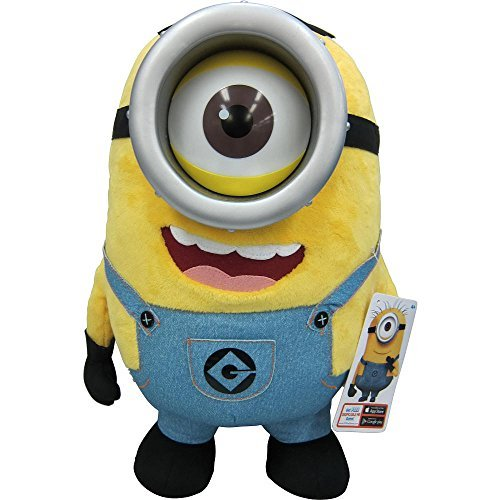 Exclusive Stuart Despicable Me 2 Talking Minion 16-inch Jumbo Plush by Thinkway