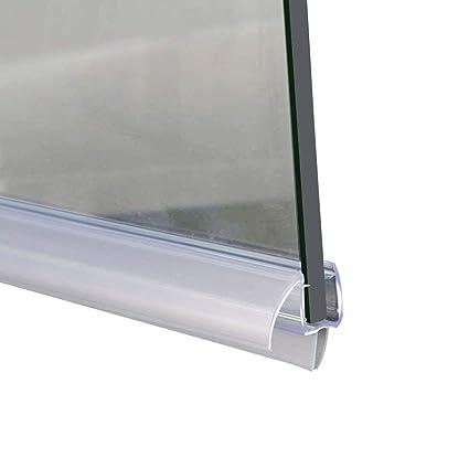 Elegant Showers A309d5 28 For 3 8 Frameless Shower Door Sweep Bottom Seal Wipe Drip Rail 28 Length