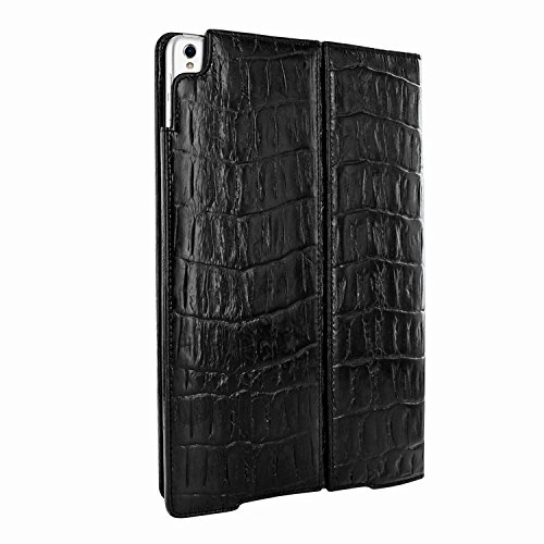 Piel Frama 786 Black Wild Crocodile Cinema Magnetic Leather